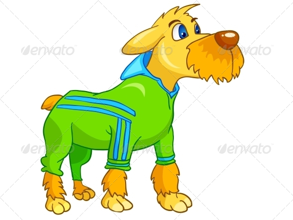 GraphicRiver Cartoon Character Dog 4969661