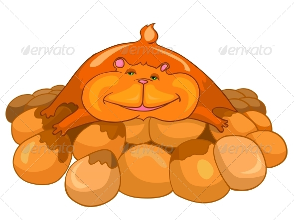 GraphicRiver Cartoon Character Hamster 4969916