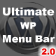 Ultimate WP Menu Bar - CodeCanyon Item for Sale