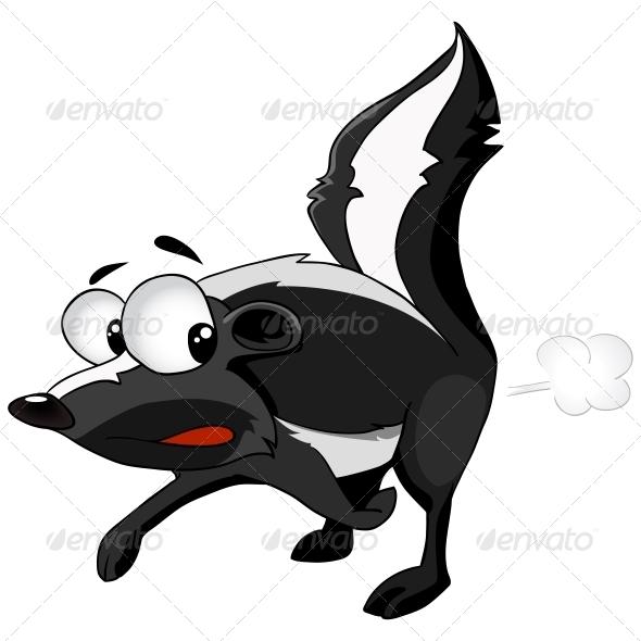 GraphicRiver Cartoon Character Skunk 4970117