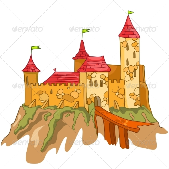 GraphicRiver Cartoon Castle 4970250