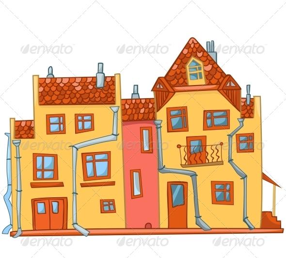 GraphicRiver Cartoon House 4970256