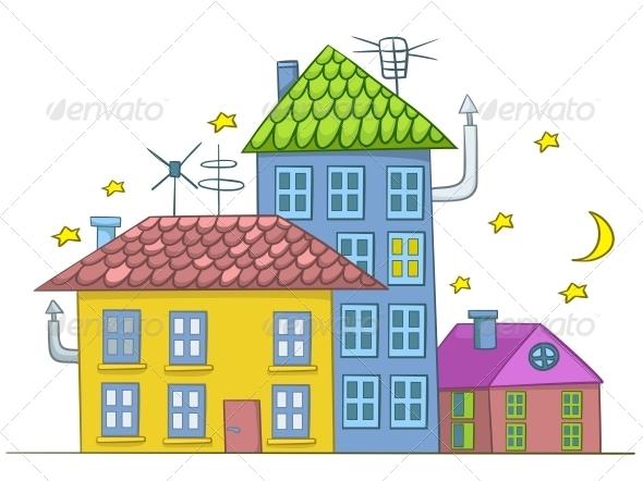 GraphicRiver Cartoon House 4970385