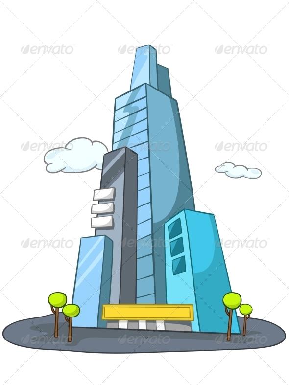 GraphicRiver Cartoon Skyscraper 4970390