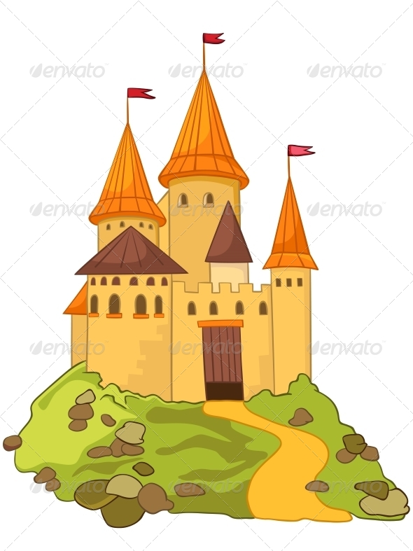 GraphicRiver Cartoon Castle 4970396