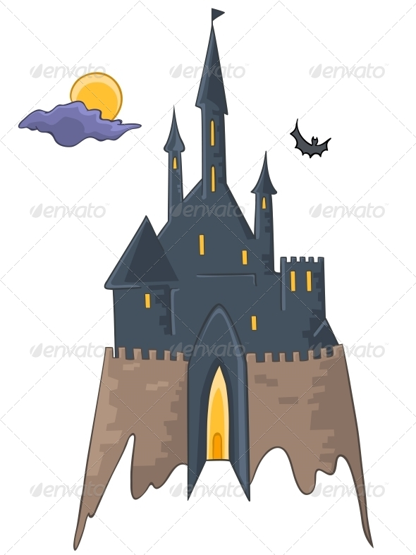 GraphicRiver Cartoon Castle 4970397