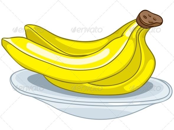 Cartoon Food Fruit Banana