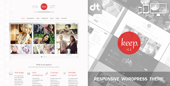 Duotive Keep for WordPress  - Creative WordPress