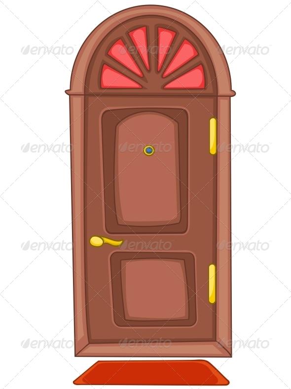 GraphicRiver Cartoon Home Door 4970547