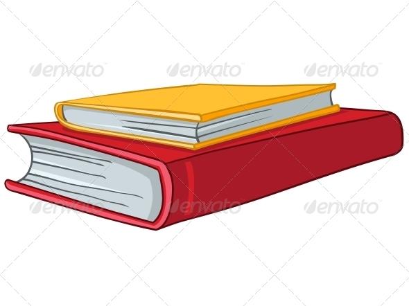GraphicRiver Cartoon Home Books 4970556