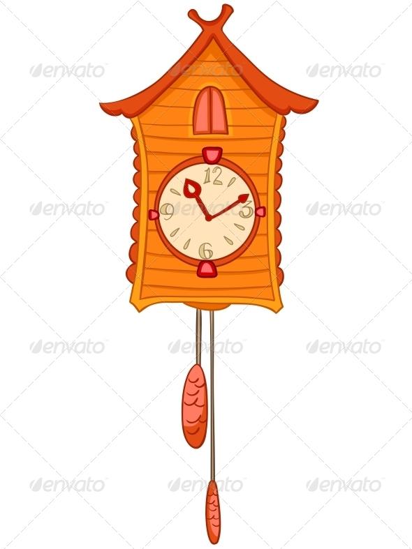 GraphicRiver Cartoon Home Clock 4970558