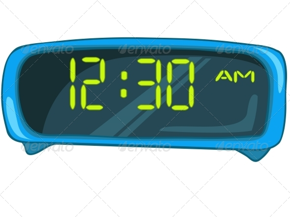 GraphicRiver Cartoon Home Clock 4970559