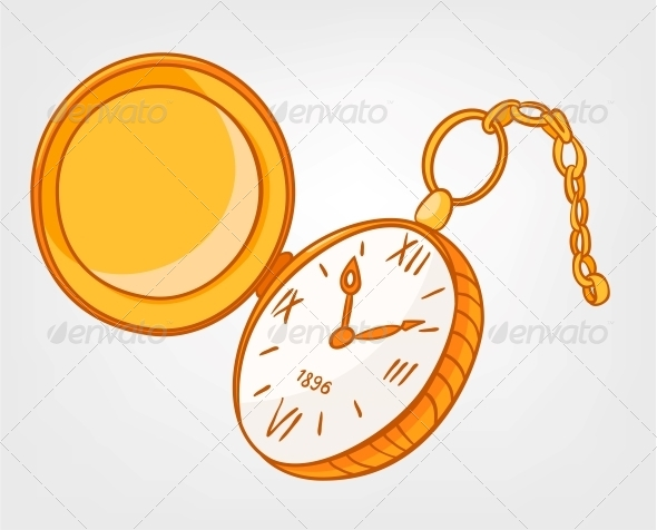GraphicRiver Cartoon Home Clock 4970562