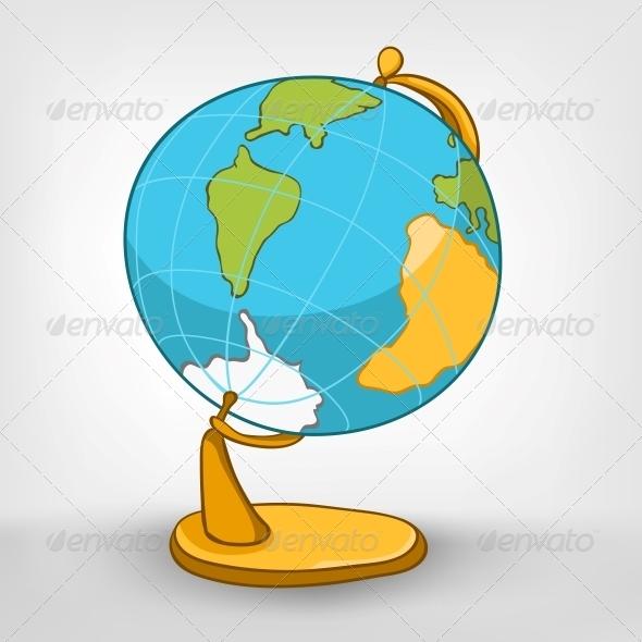 GraphicRiver Cartoons Decoration Globe 4970568