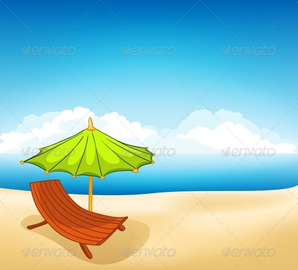 GraphicRiver Cartoon Vacation Lounger 4970685