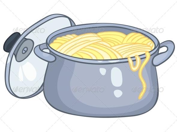 GraphicRiver Cartoon Home Kitchen Pot 4970809
