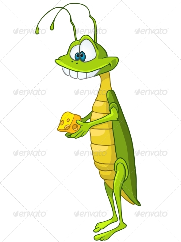 GraphicRiver Cartoon Character Locust 4970835