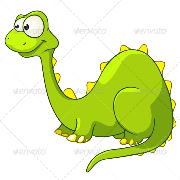 GraphicRiver Cartoon Character Dino 4970838