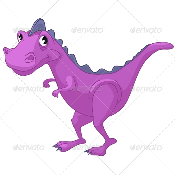 GraphicRiver Cartoon Character Dino 4970840