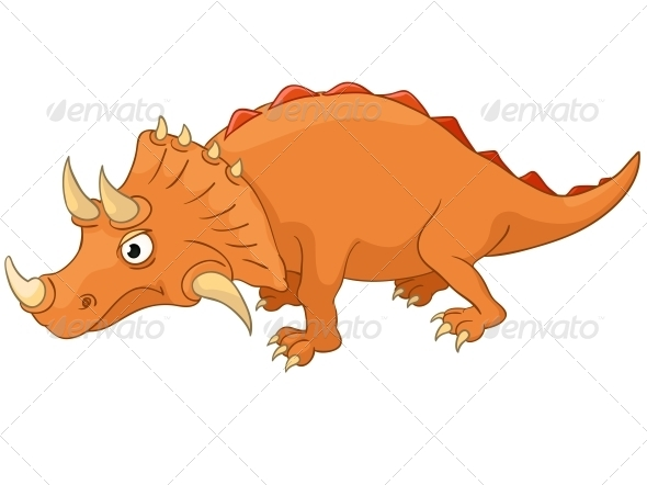 GraphicRiver Cartoon Character Dino 4970841