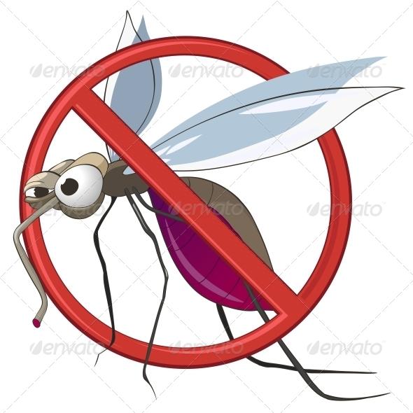 GraphicRiver Cartoon STOP Mosquito 4970848