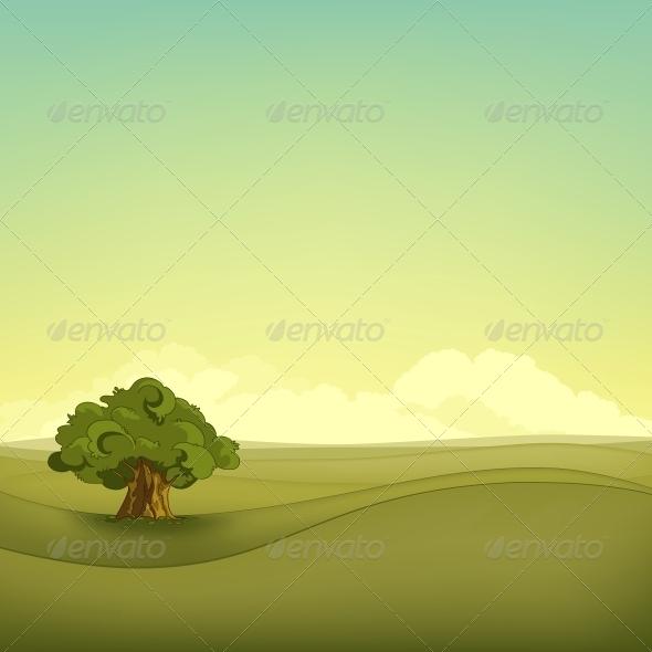 GraphicRiver Field Landscape 4970854
