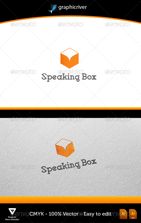Speaking Box - Logo Templates