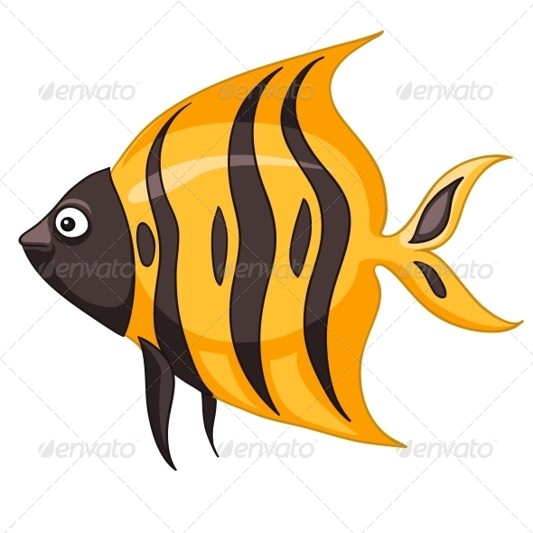GraphicRiver Cartoon Character Fish 4971026