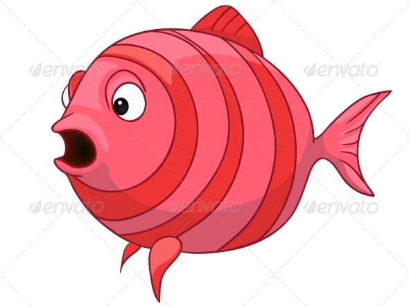 GraphicRiver Cartoon Character Fish 4971048