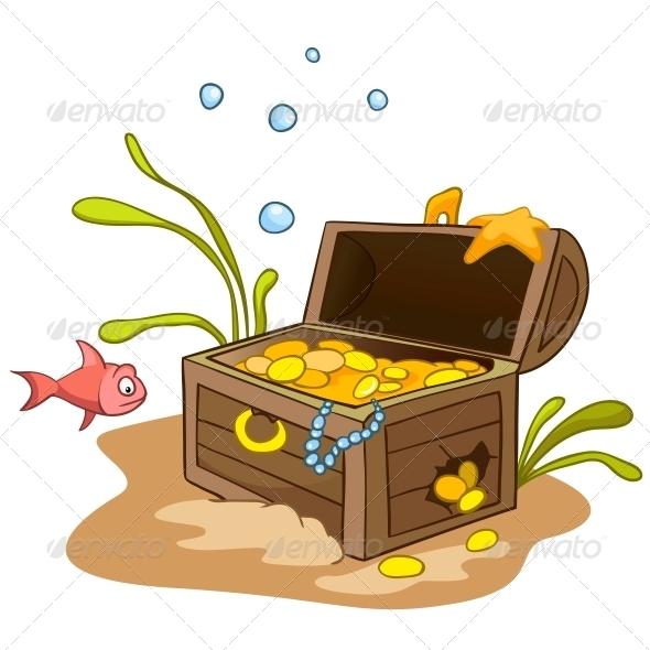 GraphicRiver Cartoon Underwater 4971266