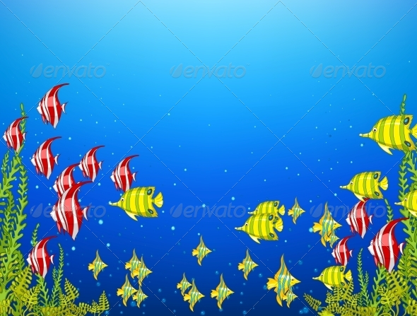GraphicRiver Ocean Underwater World 4971278