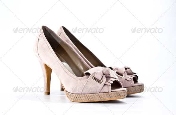 Pink-shoes2 - Stock Photo - Images