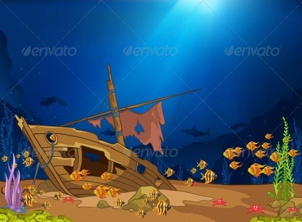 GraphicRiver Ocean Underwater World 4971303