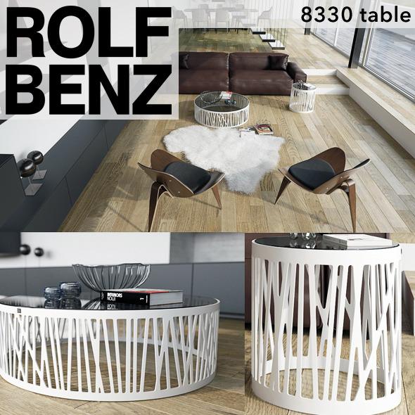 3DOcean Rolf Benz 8330 table 4971914