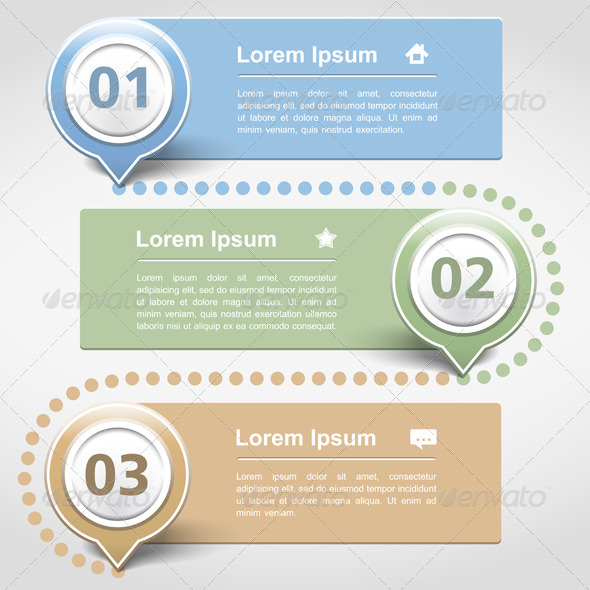 GraphicRiver Design Template with Three Banners 4972413