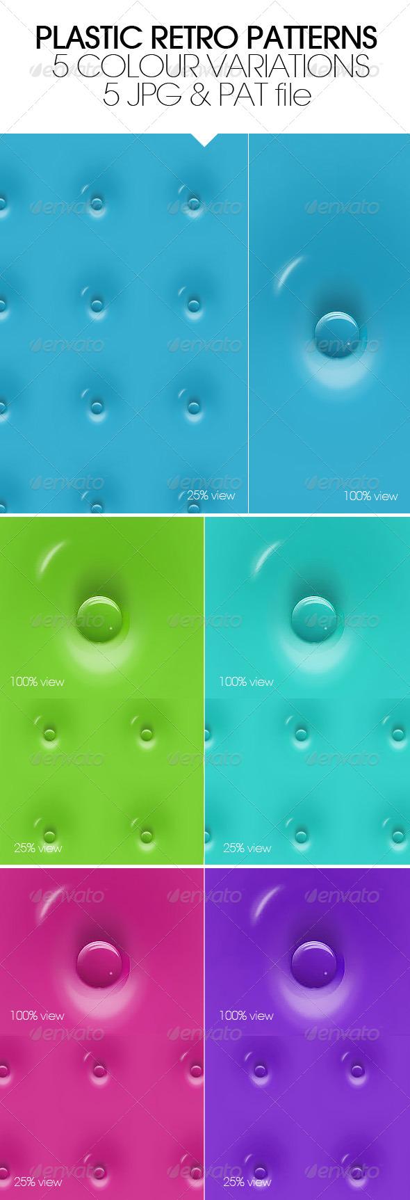 GraphicRiver Plastic Retro Patterns 4960919