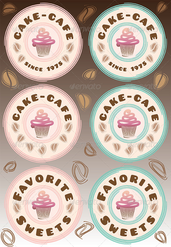 GraphicRiver Cupcake and Coffee 4972877