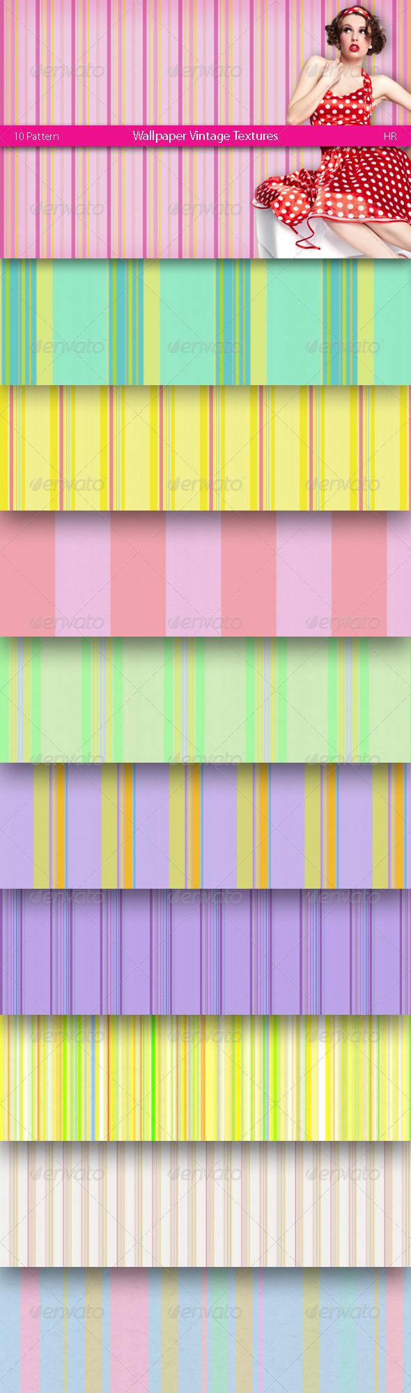 3DOcean Wallpaper Vintage Textures 4974305