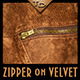 Zipper on Velvet