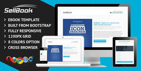 ThemeForest SellBook Responsive eBook Template 4975109