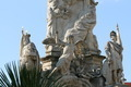 Close-up of plague column (Holy Trinity) in St. Pölten, Austria - PhotoDune Item for Sale
