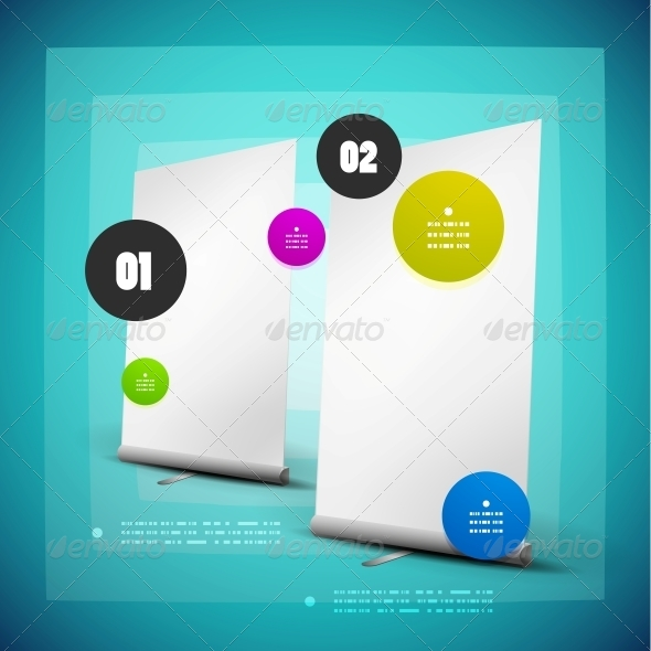GraphicRiver Ad Option Steps Banner 4975377
