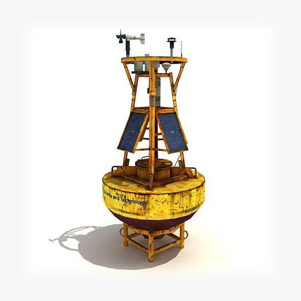 Meteorological Buoy. - 3DOcean Item for Sale