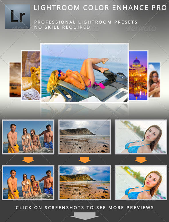GraphicRiver Lightroom Color Enhance Pro 4948271