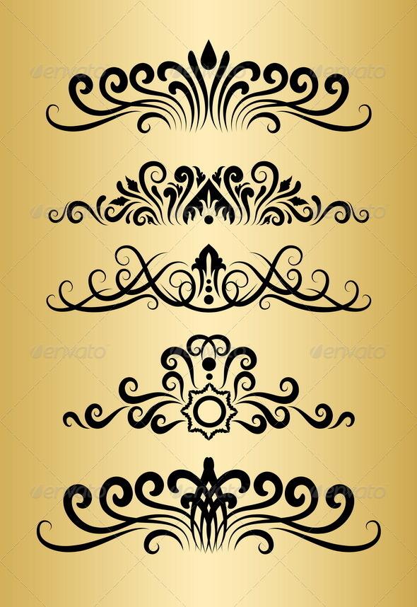 GraphicRiver Floral Ornaments 4975650