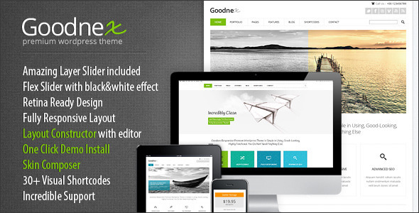 ThemeForest Goodnex Premium Responsive WordPress Theme 4948491