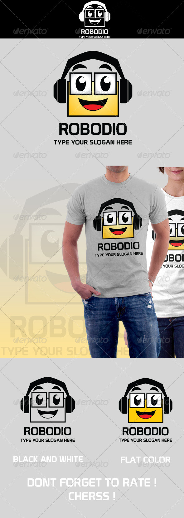 Robodio Logo - Humans Logo Templates