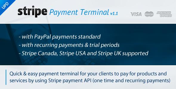 Stripe Payment Terminal v1.1 | CodeCanyon
