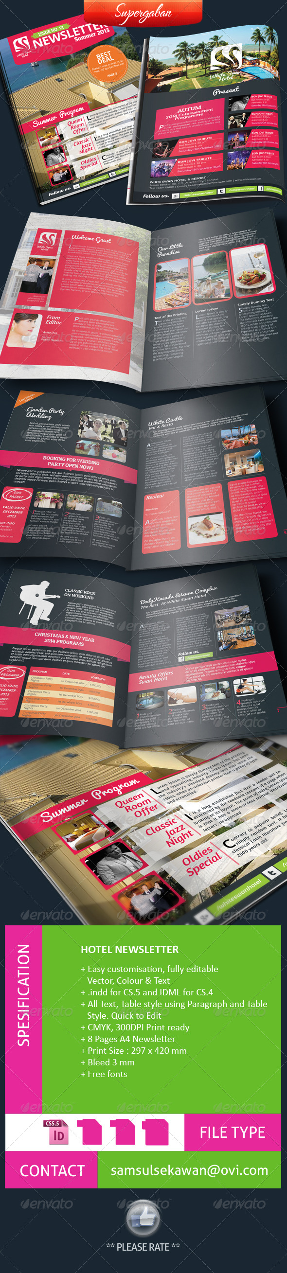 GraphicRiver Hotel Newsletter 4976648