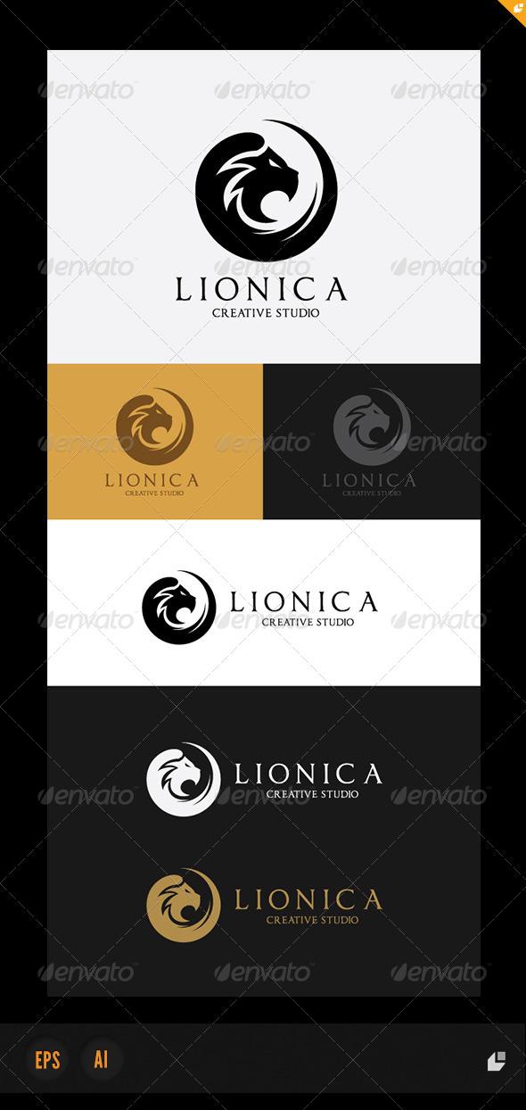 GraphicRiver Lionica Logo 4976745